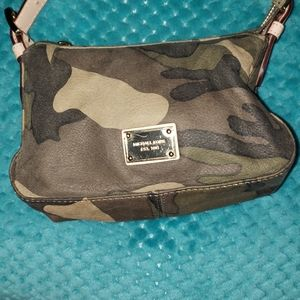 RARE: Mini grayson camo Michael Kors satchel